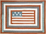 American Pieced Cotton Coverlet