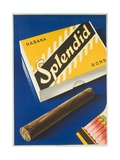 Splendid Cigar  Swiss Advertising Poster