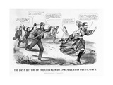 The Last Ditch of the Chivalry  or a President in Petticoats