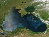 Low Earth Orbit View of the Black Sea