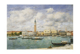 Venice  Campanile  St Mark's View of the Canal from San Giorgio