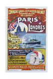 Paris to London Poster