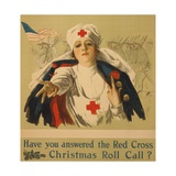 Have You Answered the Red Cross Christmas Roll Call Giclée par Harrison Fisher