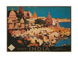 India Travel Poster