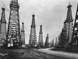 1900s Famous Spindletop Oil Field in Beaumont  Texas