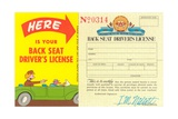 Back Seat Driver's License