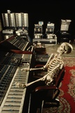Skeleton at Mixing Boards