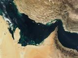 Persian Gulf around the Strait of Hormuz