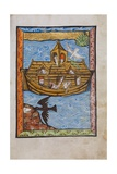 Manuscript Illumination of Noah's Ark