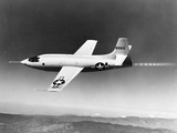 1940s-1950s Bell X-1 US Air Force Plane