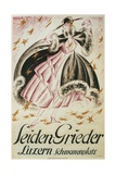 Seiden-Greider Poster with Fashionable Woman