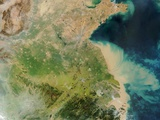 Mouth of the Yangtze River in China