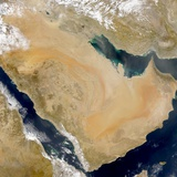 Dust Storm over Arabian Peninsula and Persian Gulf