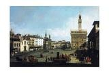 The Piazza Della Signoria and Palazzo Vecchio in Florence