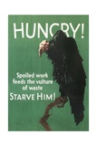 Hungry Vulture Poster