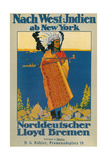 German Travel Poster for America