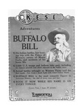 Adventures of Buffalo Bill Movie Advertisement