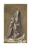 Drapery Study for a Kneeling Figure