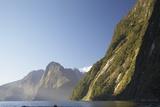 Mountains Along Milford Sound