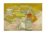 Piles of French Novels Giclée par Vincent Van Gogh
