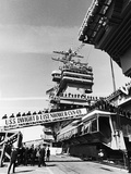 Commissioning Ceremony of Uss Dwight D Eisenhower