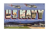 Greeting Card from Naval Air Station