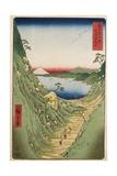 Shiojiri Pass in Shinano Province