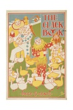 The Clack Book  American Literary Advertising Poster Ca 1890S