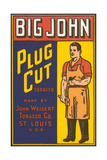 Big John Plug Cut Tobacco Advertisement