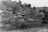 Rural School and Shanties