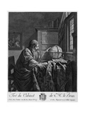 The Astronomer Engraving