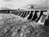 Spilling Water from a Tennessee Dam