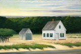 October on Cape Cod Giclée par Edward Hopper