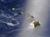 Hawaiian Islands and Pacific Ocean