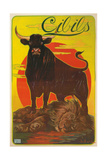 Poster for Cibils Meat Extract with Bull and Lion