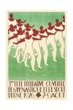 Swiss Gymnastics Poster