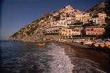 Beach in Positano  Italy