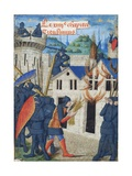 Gaius Marcus Corialanus Setting a Firebrand to Corioli