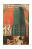 Soviet Factory Poster