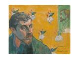 Self-Portrait with Portrait of Bernard  'Les Mis'rables'