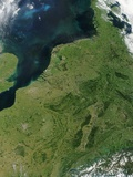 North Sea and the Low Countries of Northern Europe