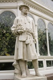 Carolus Linnaeus Statue at Sefton Park Palm House