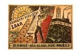 1947 Czech Propaganda Postcard