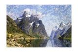 Hardanger Fjord  Norway