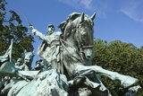 Cavalry Group on the Ulysses S Grant Memorial in Washington  DC