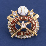 1905 Baseball World Series Player Award  Champions of the 2nd World Series  New York Giants