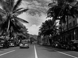 Street in Honolulu  Hawaii