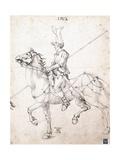 Lancer on Horseback