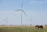 Wind Farm  Vega  Texas