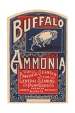Buffalo Ammonia Label